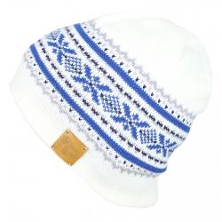Mütze Raute weiß
